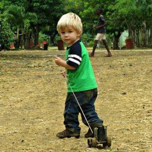 Noah in Batey Lima October 2012