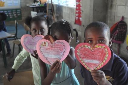 Happy Valentine's Day from kindergarten!