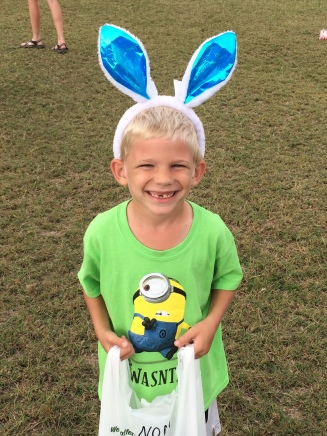 Bethany youth organized a sweet little Easter egg hunt for the MK's. So fun!