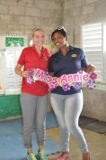 Miss Annie spent her mornings in Kindergarten with Miss Flavia