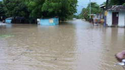 Hurricanes Irma and Maria hit the island. Maria left Ramón Santana severely flooded.