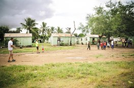 A batey trip is never complete without a baseball game