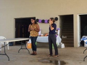 Glamary organized a bridal shower for two of our teachers!