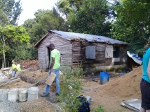 Maribel's house in Ramon Santana after the hurricane flooding