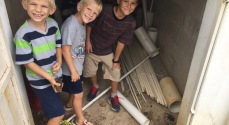 The boys like to go tarantula hunting and toad hunting with their buddy Caleb