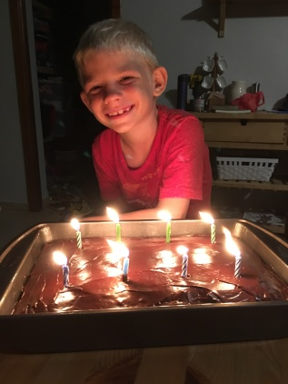 Happy 8th birthday, Noah!