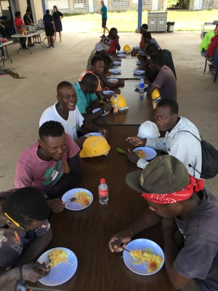 Appreciation Lunch for construction workers