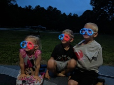 Glow-in-the-dark glasses!